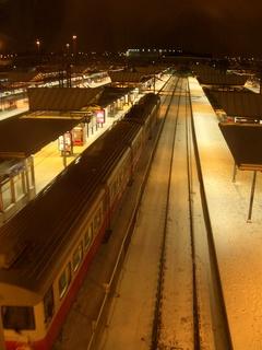 ヘルシンキの駅