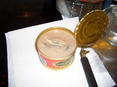 Surströmmingの缶