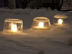jää kynttilä